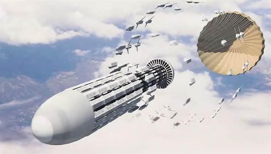 <b>美军打开潘多拉魔盒人工智能蜂群导弹亮相,有望改变战争规则</b>