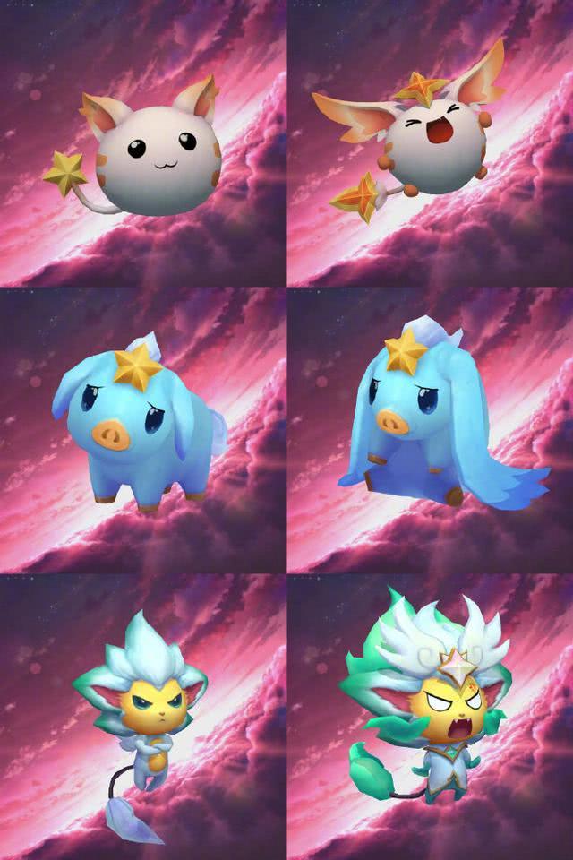 云顶之弈:星之守护者小小英雄更新,十连抽四个三星算欧皇吗?
