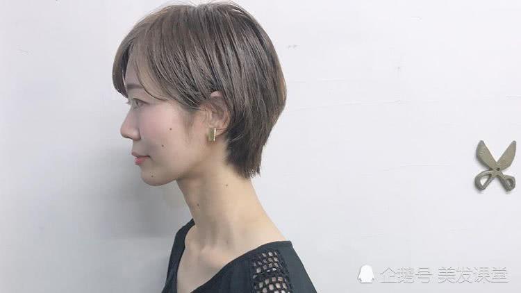 气质短发实力瘦脸,将你打造出好看的一面来,塑造风格的女性美