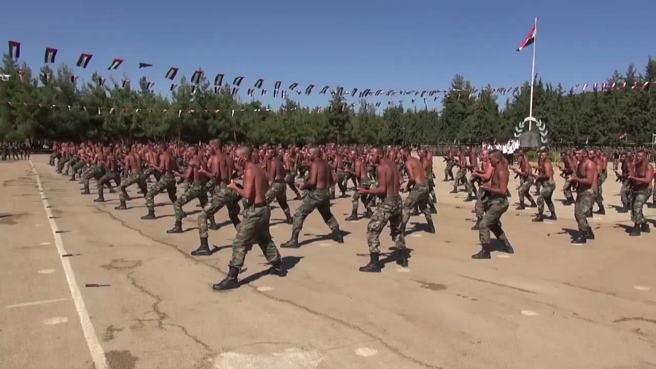 叙利亚新兵展示战斗技能,动作完美堪比特种兵,但一弱点明显