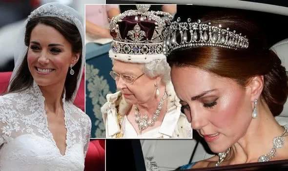 凯特王妃向女王借2千万元珠宝:嫁入皇室的日子并不好过