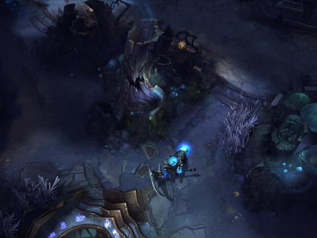 英雄联盟中被玩家遗忘的地图,里面都是机器人,年底将会被删除