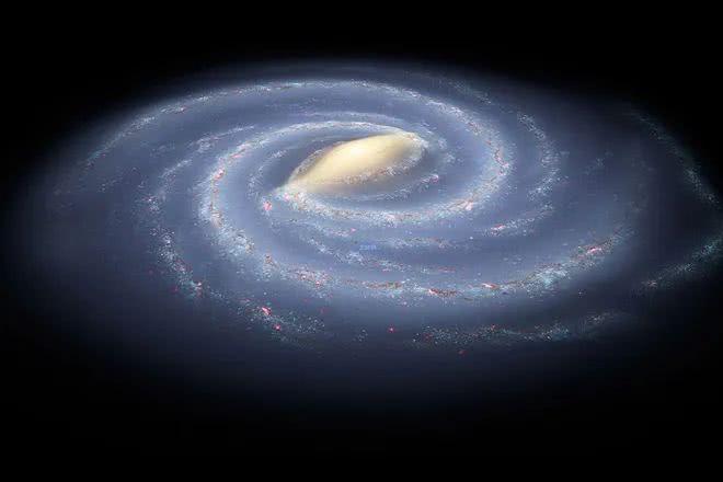 银河系的辐射范围有多大呢?新研究:直径达190万光年!