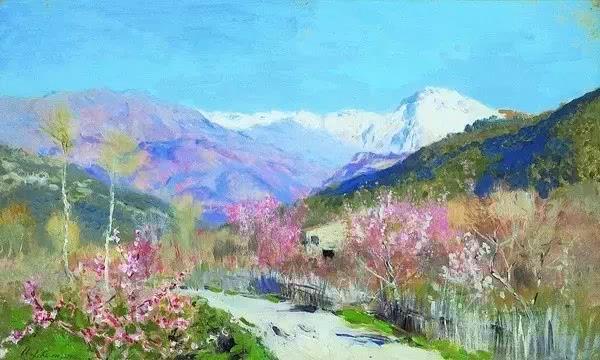 俄罗斯现实主义风景画大师,巡回展览画派代表人物,杰出的写生画家列维坦!