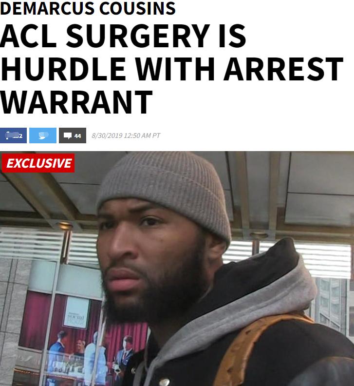 考辛斯拒绝飞往阿拉巴马配合调查,逮捕令都拿他没办法,太疯狂