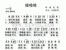 1954年:烏魯木齊街頭,石夫即興創作出《娃哈哈》