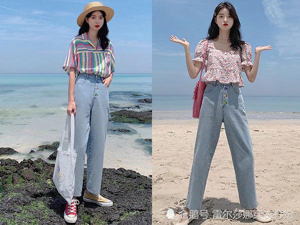 经典又好搭配的牛仔裤,夏日里轻轻松松的时尚与美