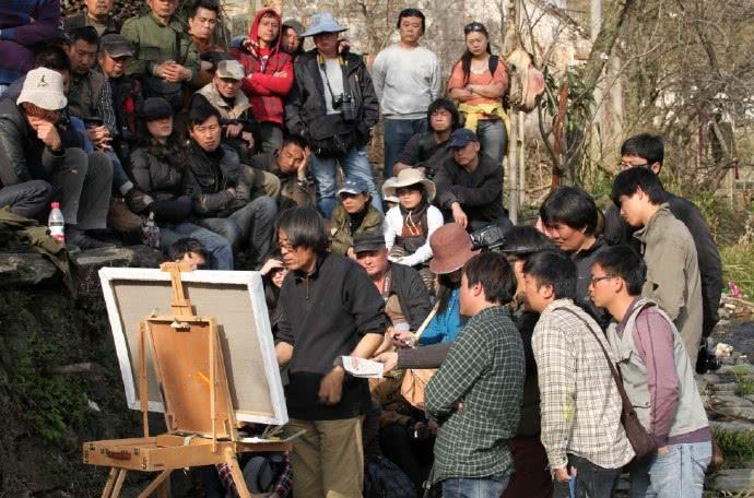 陈丹青看中的画家,影响力不输齐白石,每幅作品都是一首诗