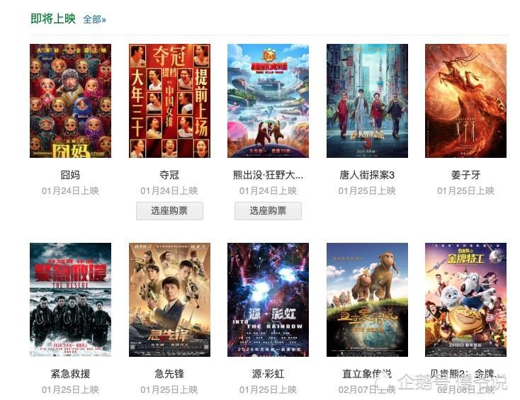 《唐人街探案3》预售成绩太好,《囧妈》《夺冠》纷纷提档,避其锋芒