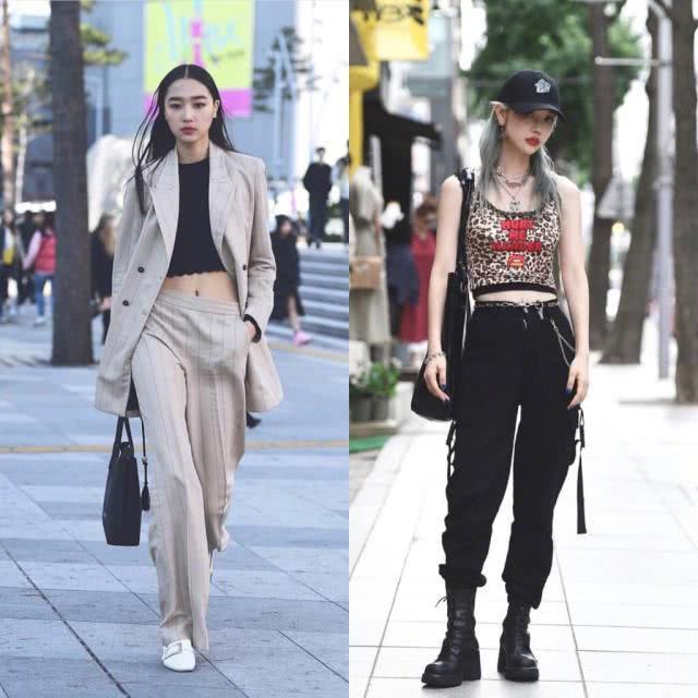 韩国初秋街拍合集,造型百变时髦范儿,给你满满的穿搭示范