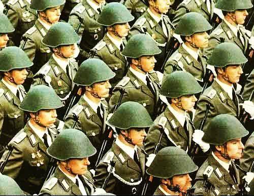 东欧剧变,两德统一后,民主德国建立的苏联式德军去哪了?