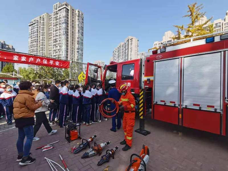 """「东风乡毕淑双」北京朝阳区东风乡启动""""119""""消防宣传月活动"""
