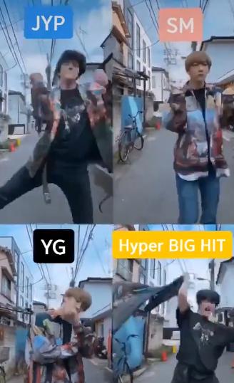韩国四大社舞蹈风格,YG原地解散,SM最标准,大黑跳舞最狂野
