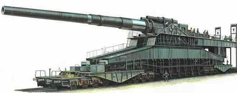 世界第一大炮,发射一次需4000人配合,7天7夜才熔毁