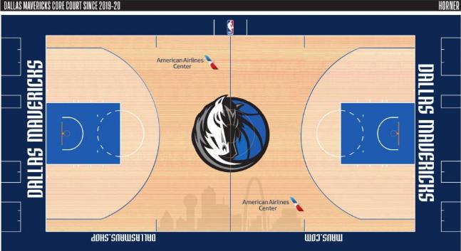 下赛季NBA各队球场设计图曝光:猛龙复古很经典,骑士50周年