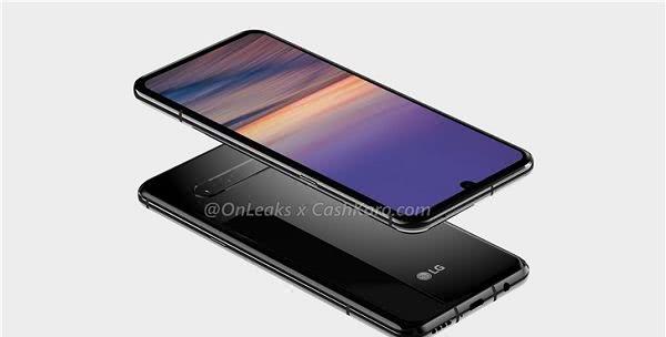 LG新旗舰G9渲染图现身,终于用上屏幕指纹识别