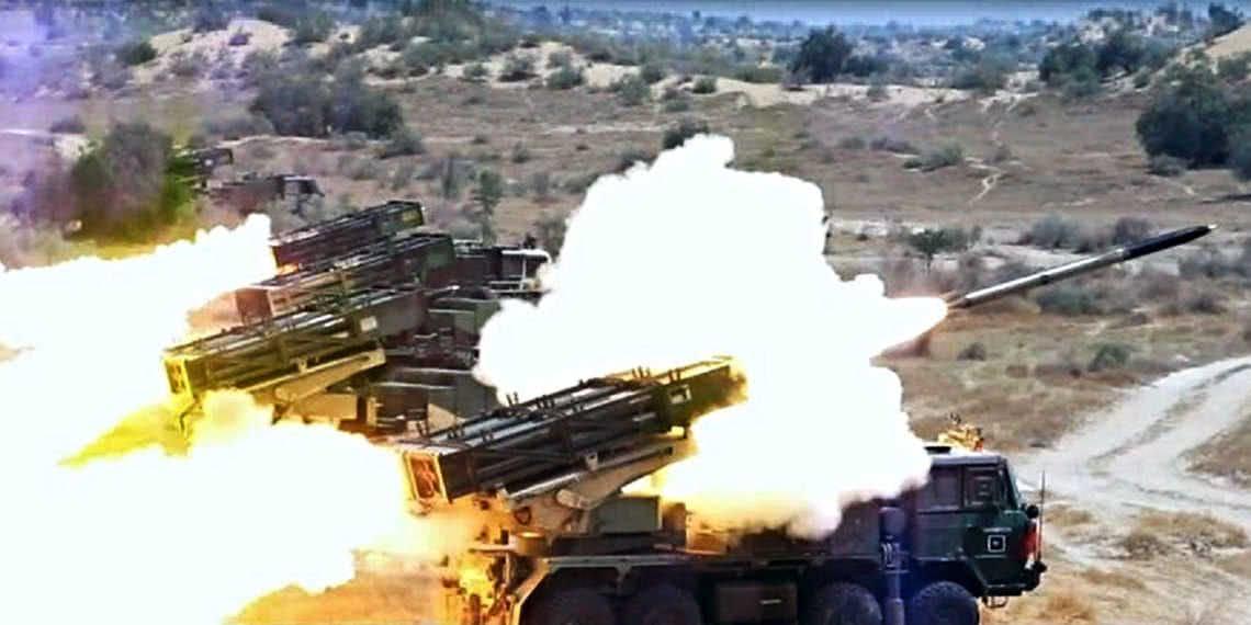 警告被当空气,巴铁架起大批重炮猛轰,印度阵地化为一片火海