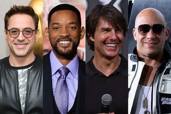 2019全球最赚钱男演员:《复联》独占5席,成龙入榜排第5