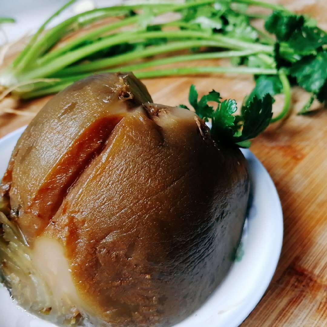 山东农家风味小菜-拌咸菜疙瘩