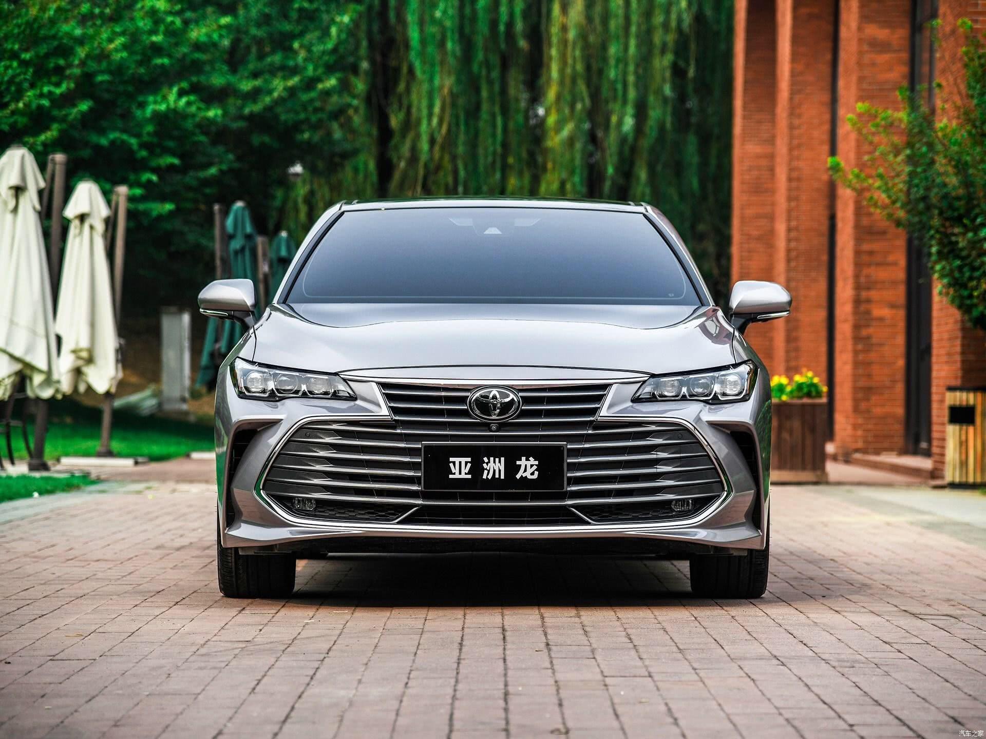 丰田推出亚洲龙2.0L汽油版,搭载2.0L+爱信CVT变速箱