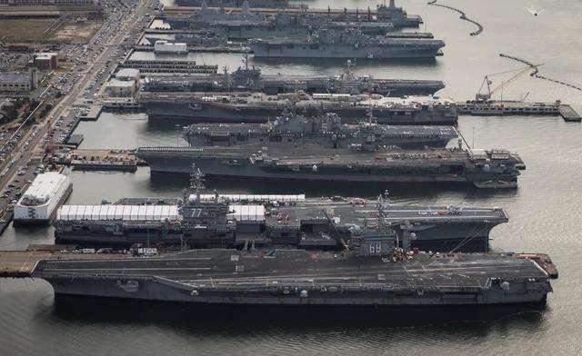 美国海军在线哭穷!上将威胁:再不给钱,就无法打赢大国战争