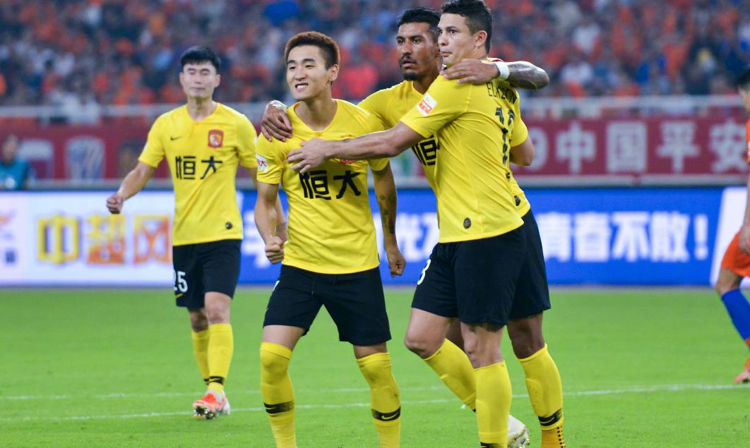 广州恒大拿到中超7月份最佳球员、最佳教练、最佳门将等4奖项