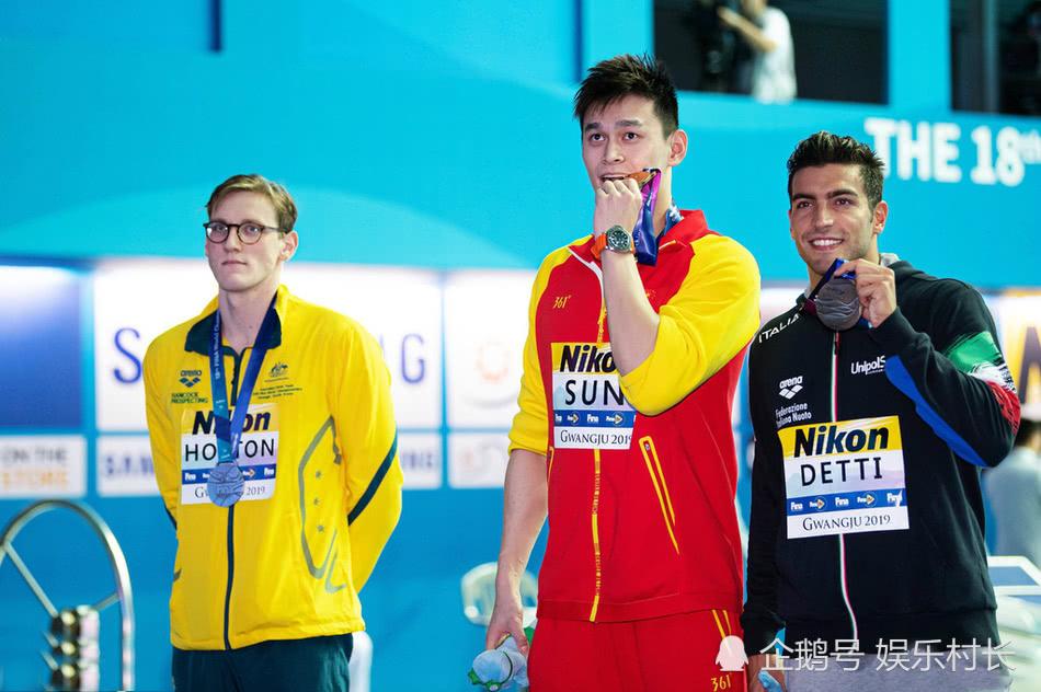 孙杨再遭冷遇面露错愕表情,与巴西选手卢卡握手被对方直接拒绝