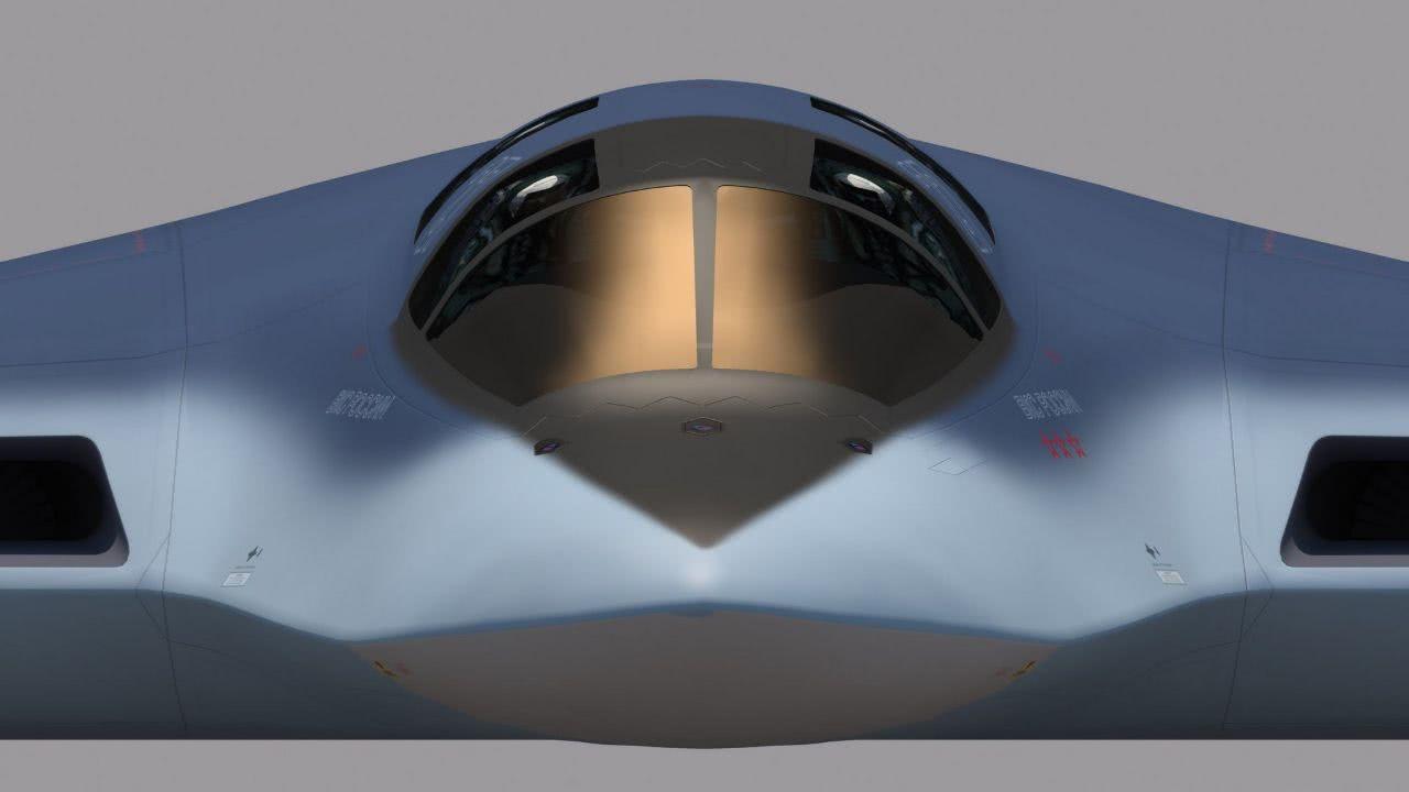 隐身轰炸机只是开始六代无人战轰启动研发,有望成功反超美军