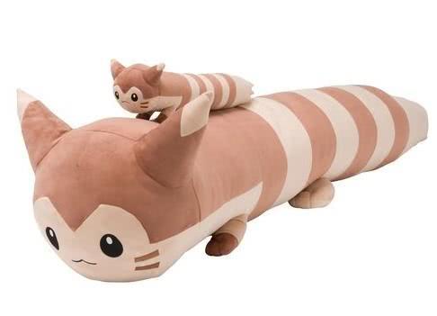 长达1米8的宠物小精灵周边到货,日本网友纷纷晒出了买家秀