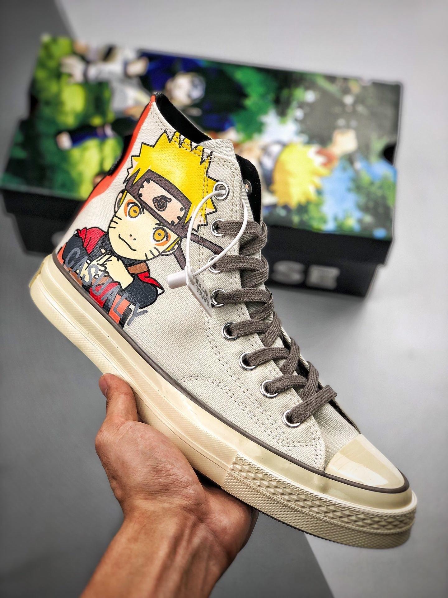 火影迷福利来袭!Converse x Naruto联名帆布鞋开箱测评!