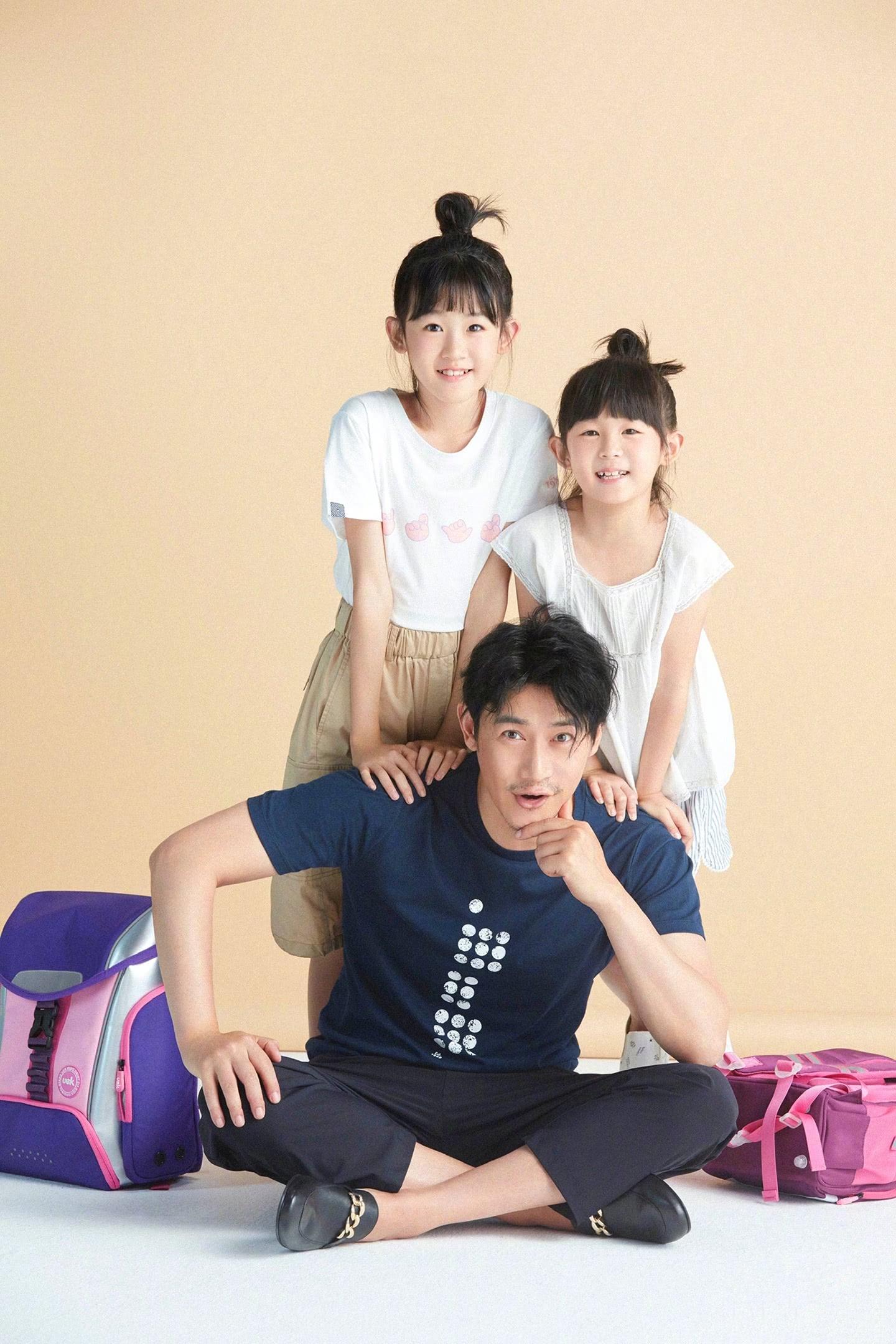 陆毅两个女儿长得太像?网友调侃这是开启了复制粘贴模式