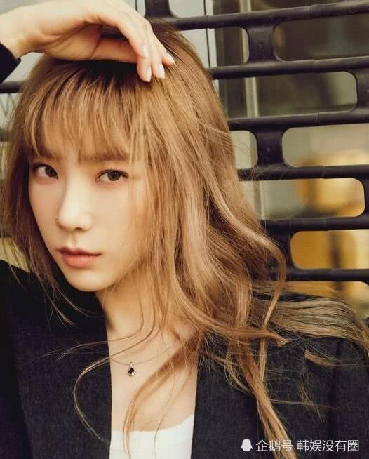 """少女时代金泰妍 INS 晒新专辑封面,13 年不变的""""最佳童颜"""""""