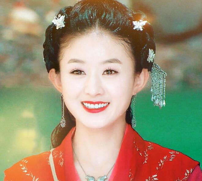 赵丽颖林心如蒋勤勤黄奕高圆圆小李琳杨幂,谁是最美红衣女神?