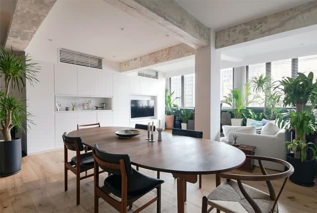 <b>合肥200平新家,客厅成了植物园!学国外装空调还砸墙,有勇气</b>