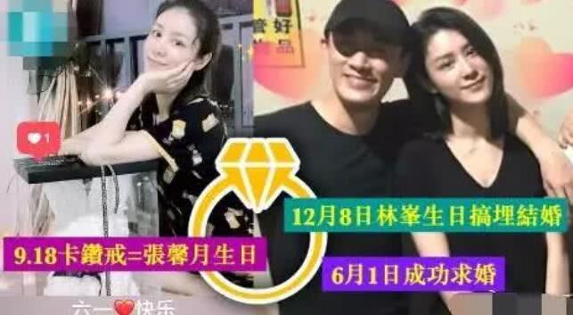 男神封盘!林峰张馨月婚姻登记证首曝光,已于9月26日秘密结婚