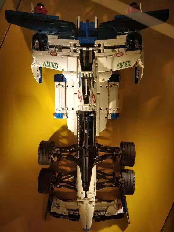 模玩控:乐高也能拼高智能方程式赛车 超级阿斯拉!
