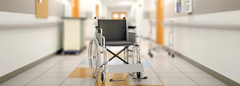 监控录像发现医院的一辆轮椅自己动了!