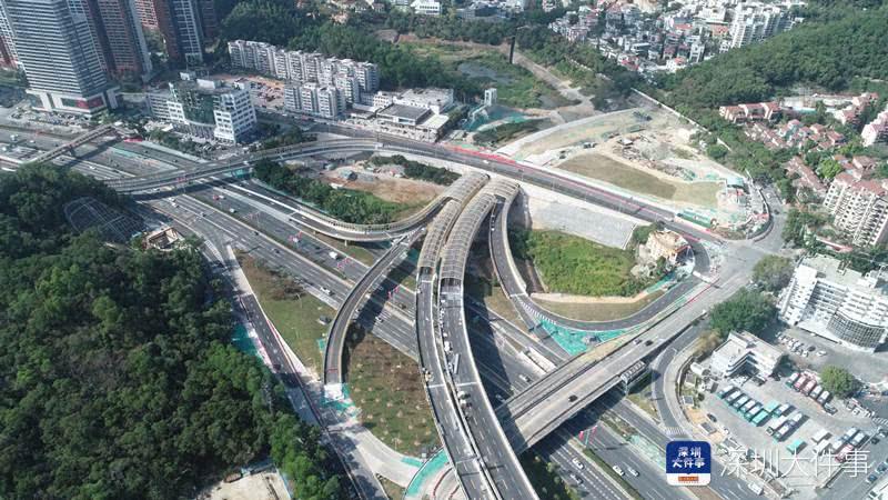 深圳坂银通道主线预计5月通行!坂田到市中心只需12分钟