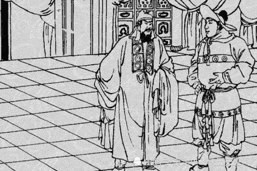 单雄信妻子久孕不生,番人给颗药就生了,接着番人又给杨广去送药