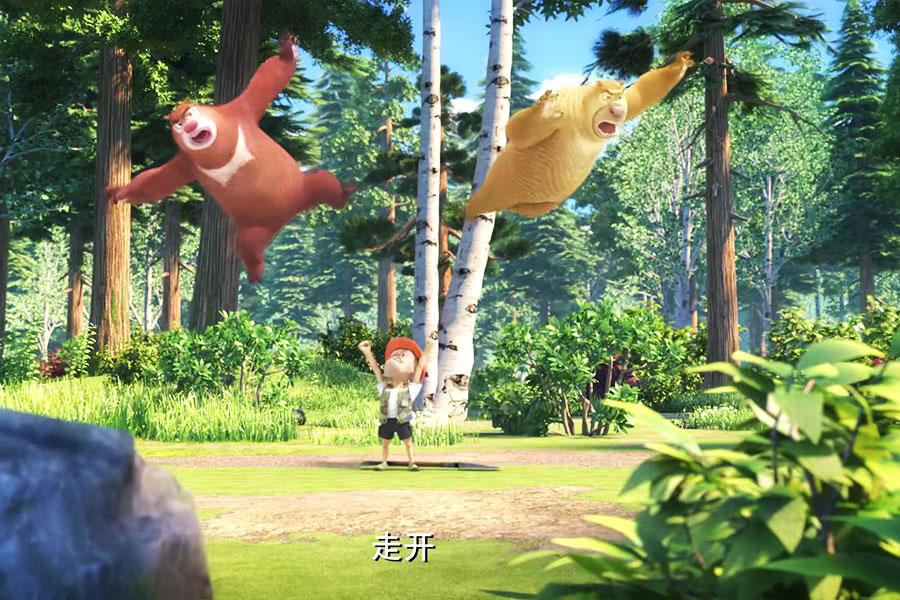 《熊出没》里光头强的五个秘密,强哥体力非凡,光头还有特殊功能