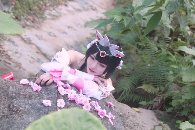 王者荣耀 甄姬游园惊梦 好漂亮的小姐姐!抱走抱走!