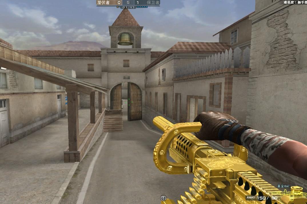 CF:让玩家头疼的4把GP枪,AN94不算啥,它是噩梦般存在