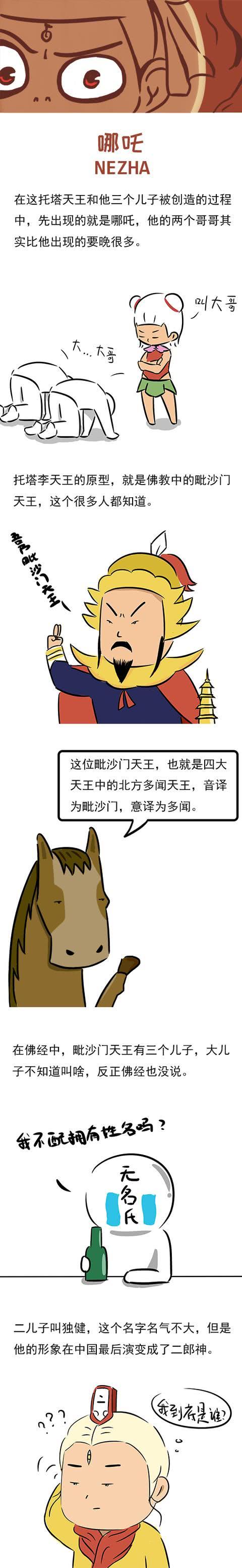 <b>李靖3个儿子:哪吒成名最早,金吒、木吒名字的由来让人哭笑不得</b>