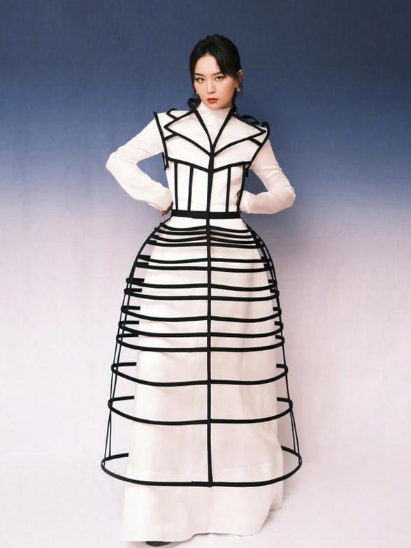 3D裙不是谁都能穿!周笔畅变表格,刘嘉玲变壮士,只有范冰冰最美