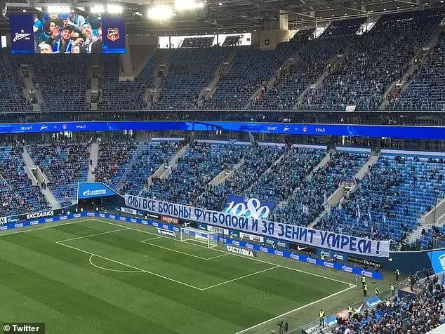 俄超:我们被足球感染,我们为泽尼特而死