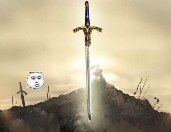 动漫之中的五大名剑,咖喱棒上榜,图五最强宝剑没有之一!