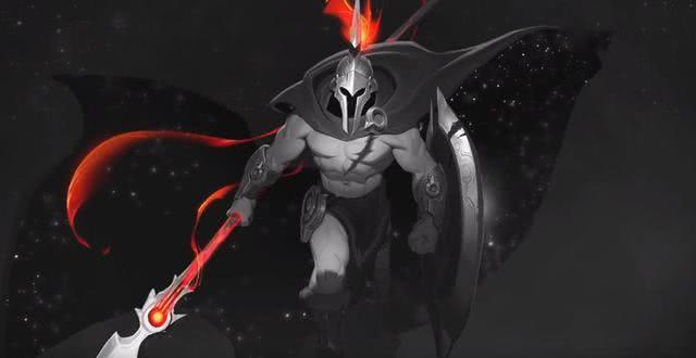 LOL潘森重做,原画背景是剑魔的头,两人之间的关系曝光