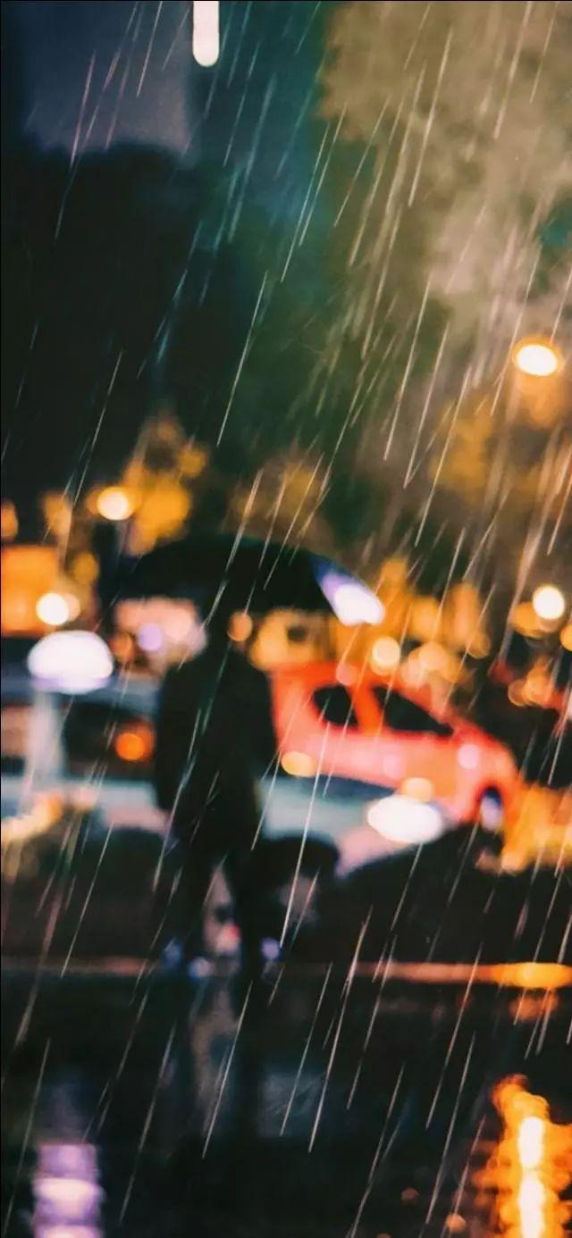 手机壁纸 雨天 主题全屏手机壁纸 天天快报