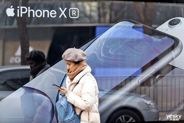 在美国 苹果卖出的手机一半是iPhone XR