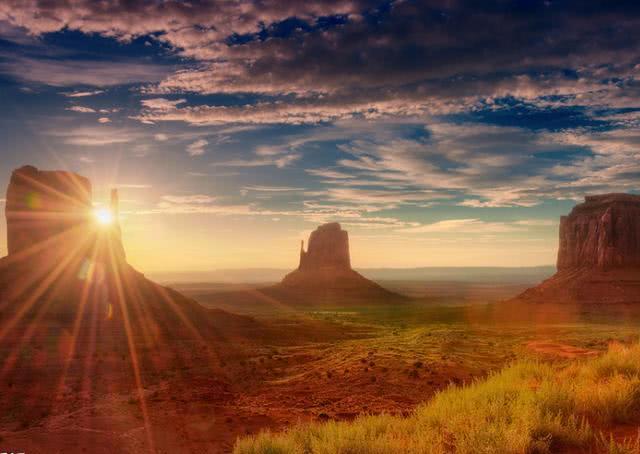 谁说沙漠单调无聊?这儿风景独好,无时无刻奏响自然的壮丽乐章!